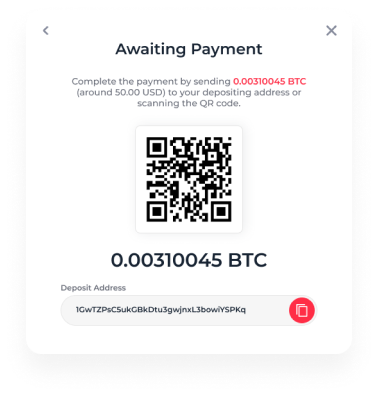 """<h3>Then you scan the QR code to open the app. Confirm the transaction in your wallet.</h3><h3>Or, copy the """"Deposit Address"""" and go to your crypto wallet app. Enter the address there and confirm the transfer.</h3><h3>Then the system makes the transaction. Now it's time for yojuing!</h3>"""